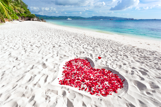 marriage proposal place - beach