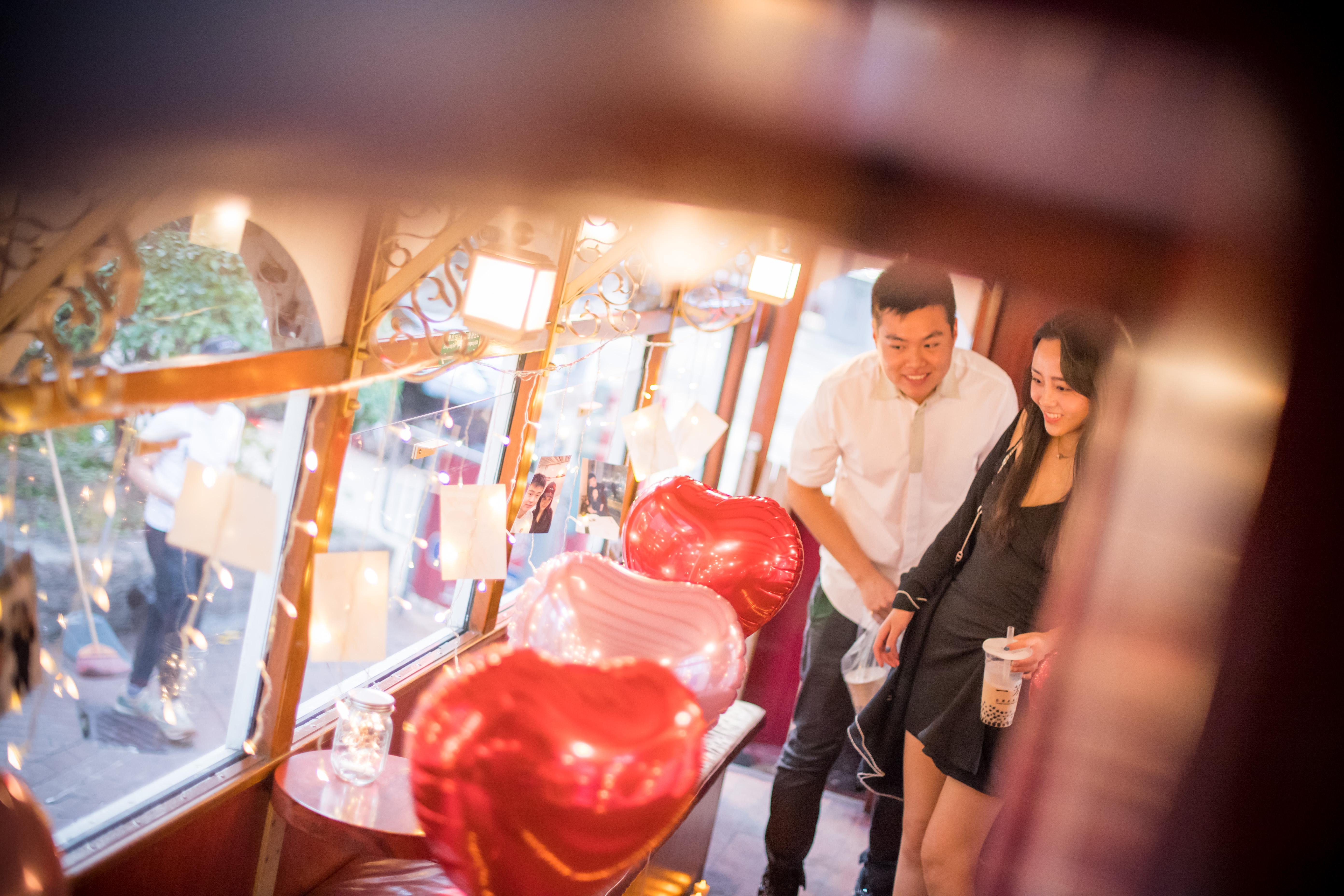 香港電車特色求婚
