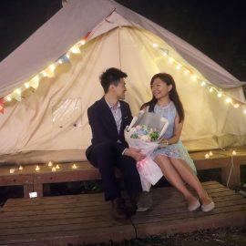 香港露營求婚
