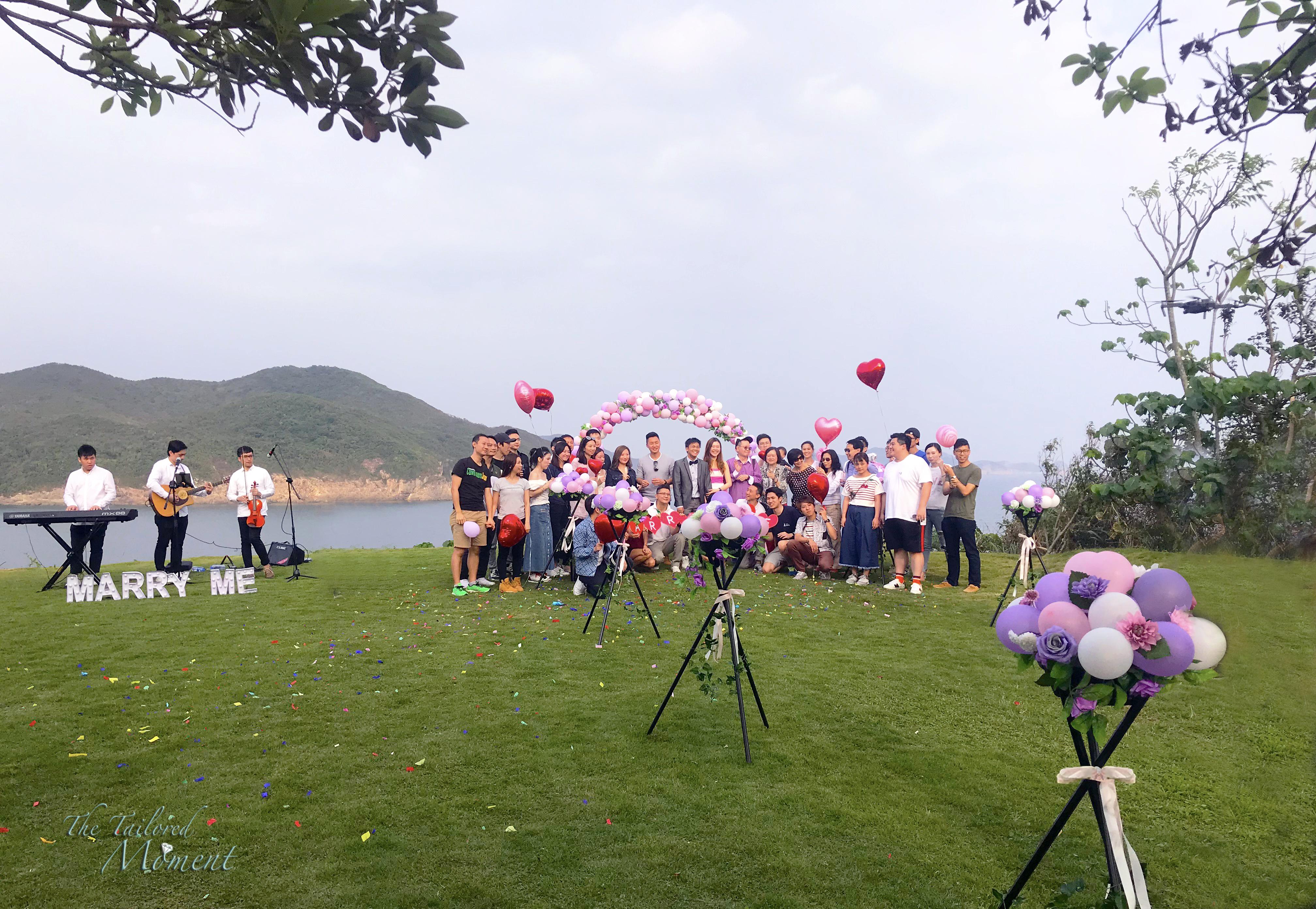 Hong Kong Proposal Location