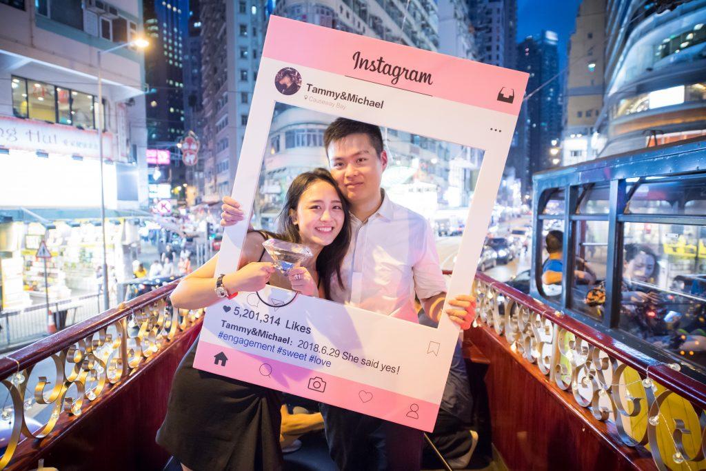 香港電車求婚之旅