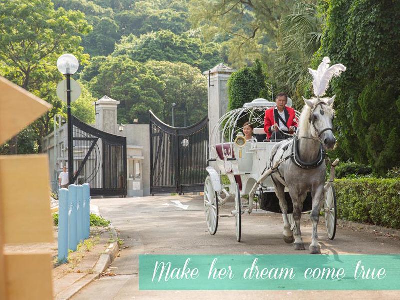 香港馬車特色求婚