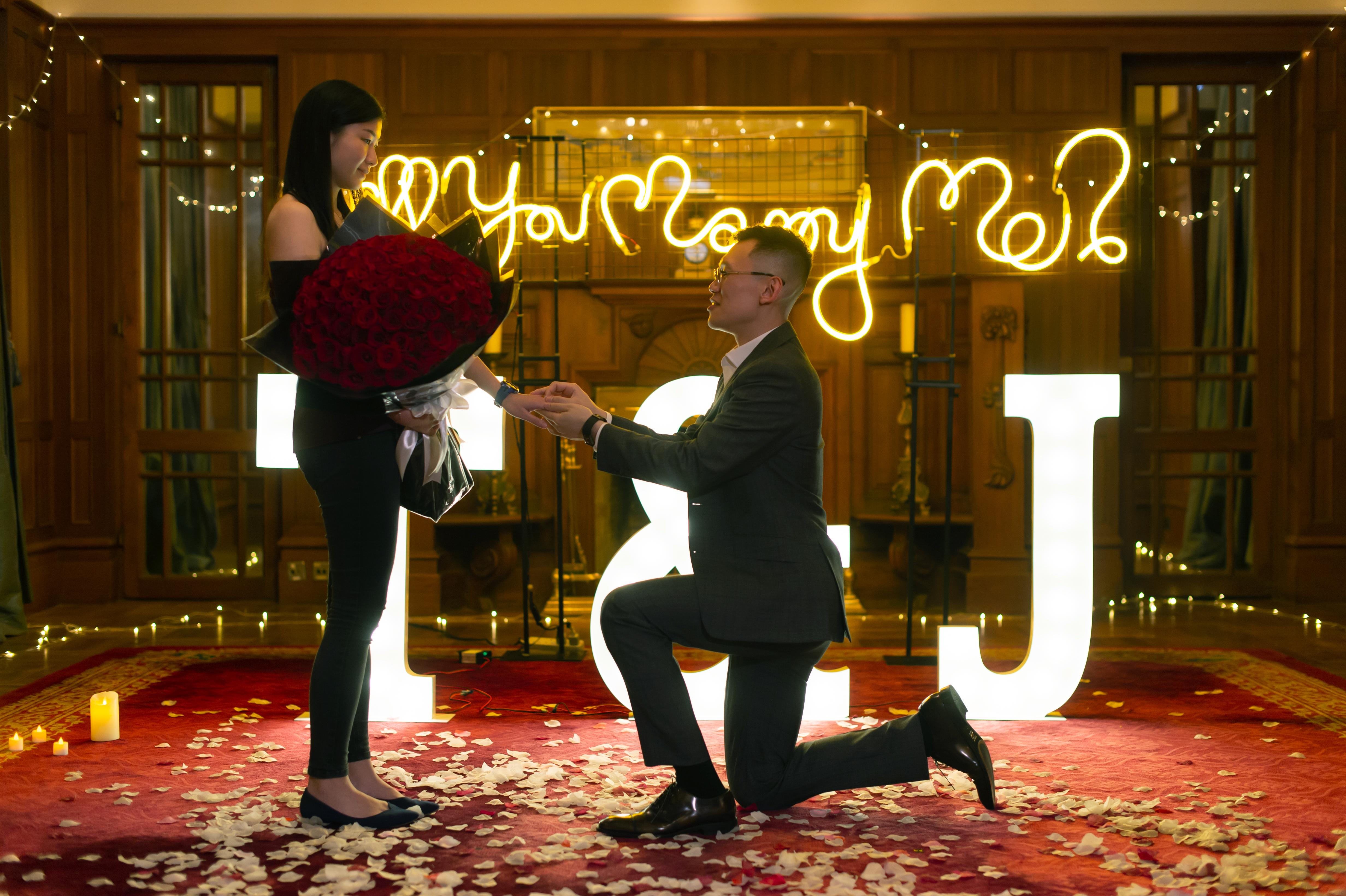 香港高級餐廳感動浪漫求婚策劃