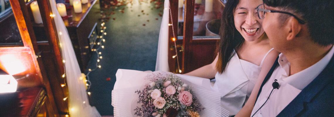 香港浪漫電車求婚之旅