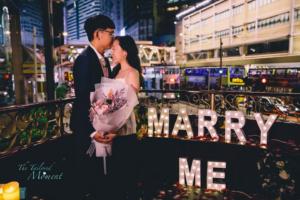 香港電車求婚派對