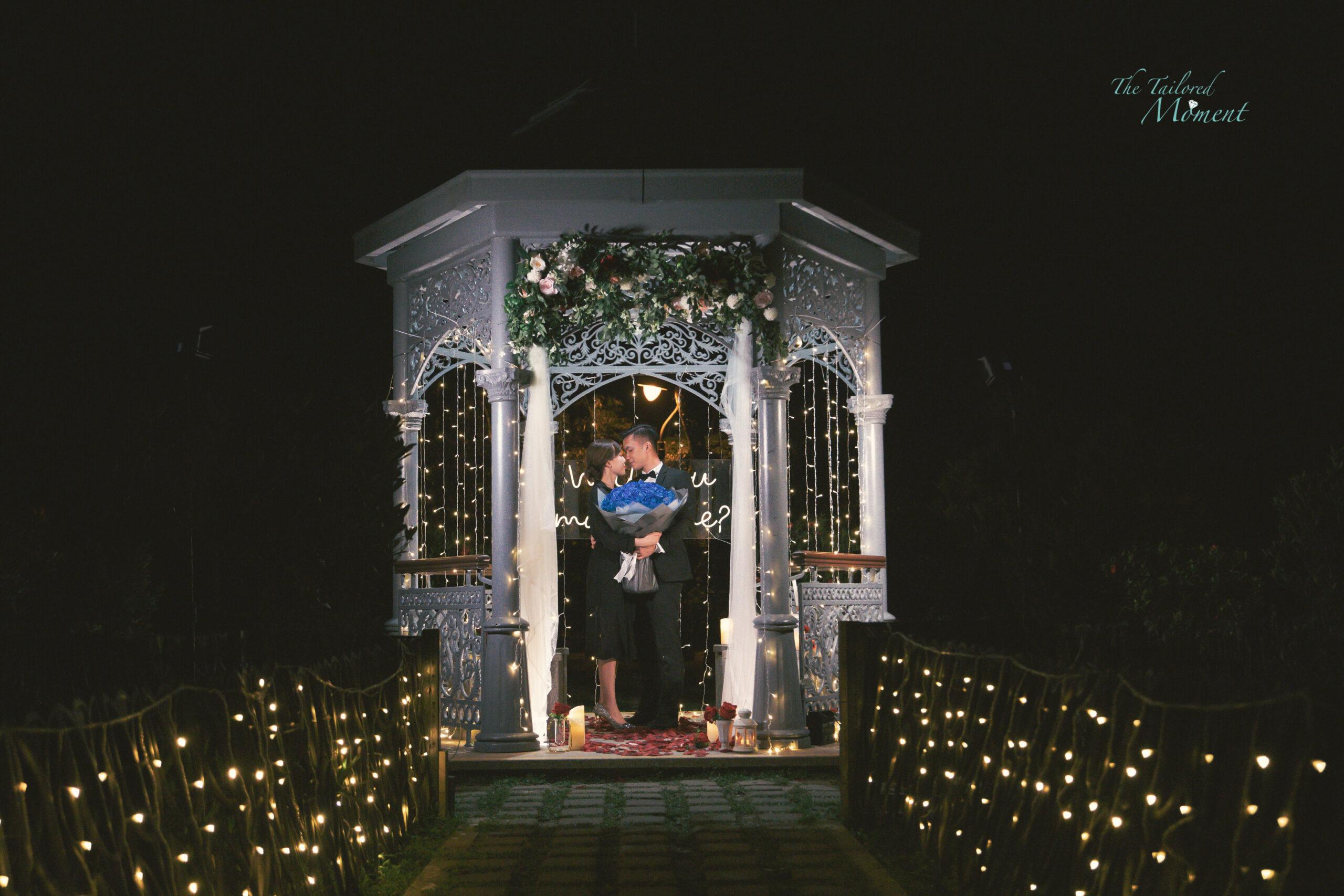 香港山頂花園浪漫求婚5