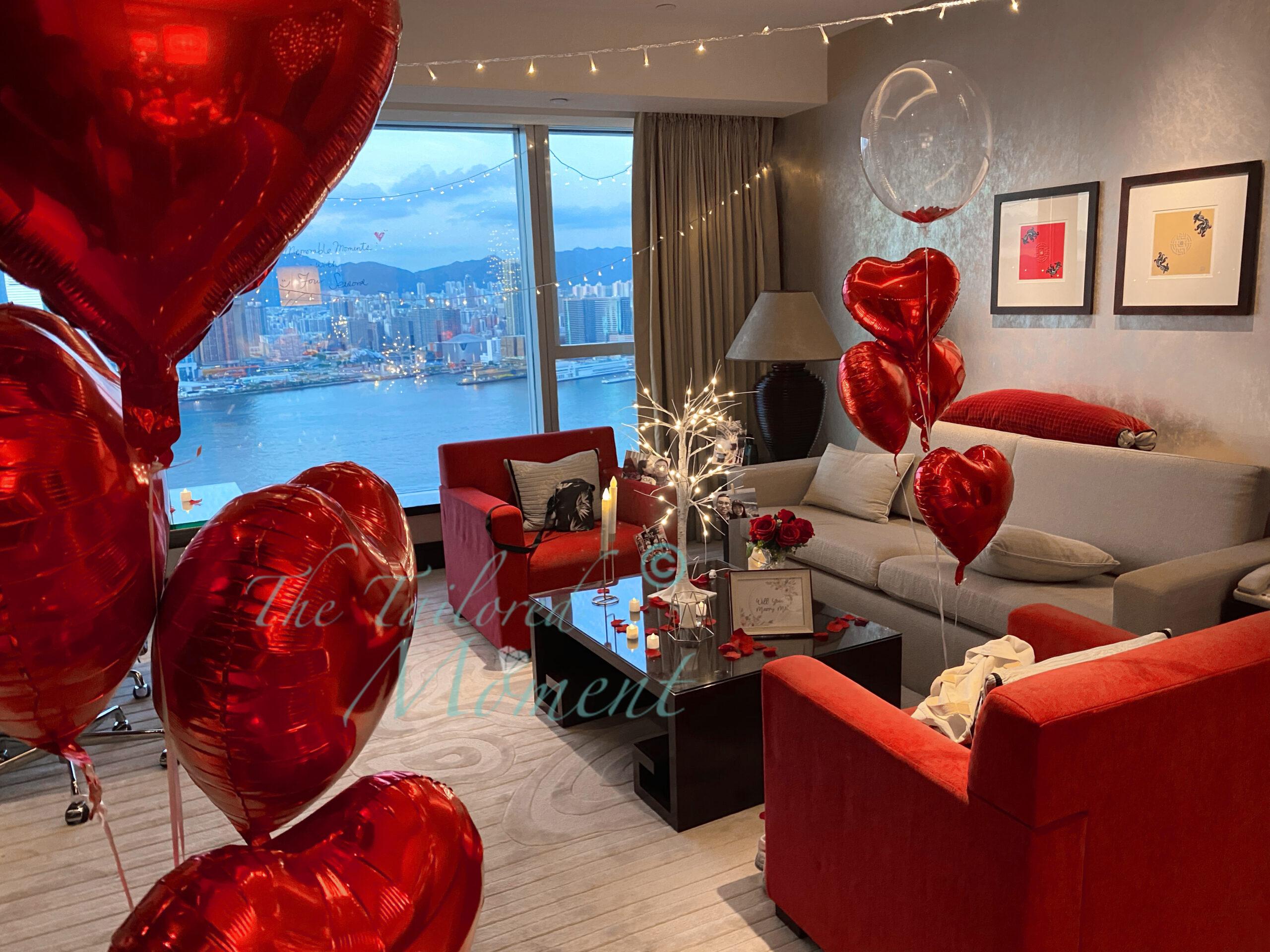 Hong Kong 5 Stars Hotel Proposal