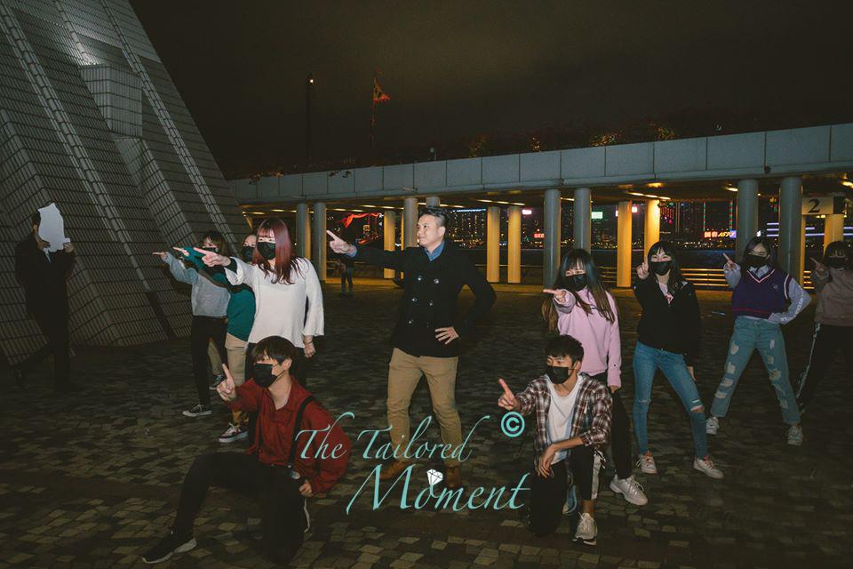 香港快閃跳舞求婚