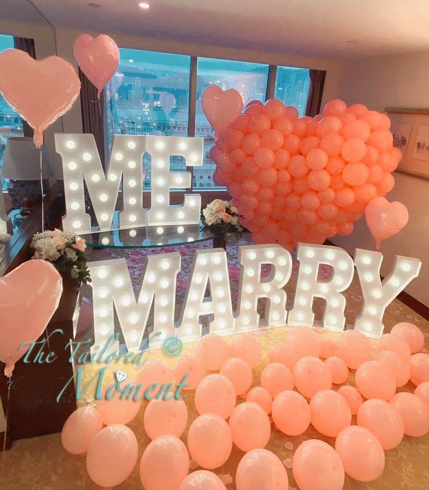 香港求婚場地地點佈置