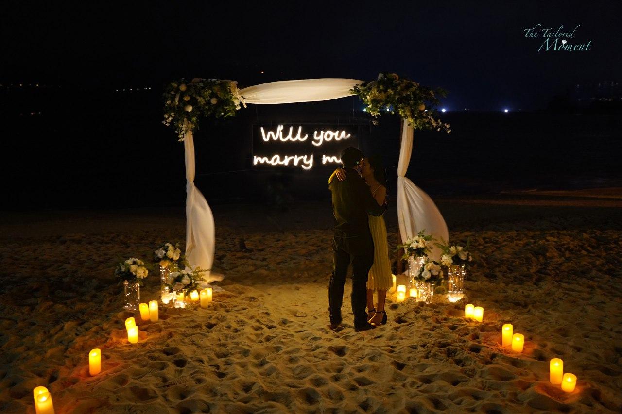 香港沙灘求婚策劃