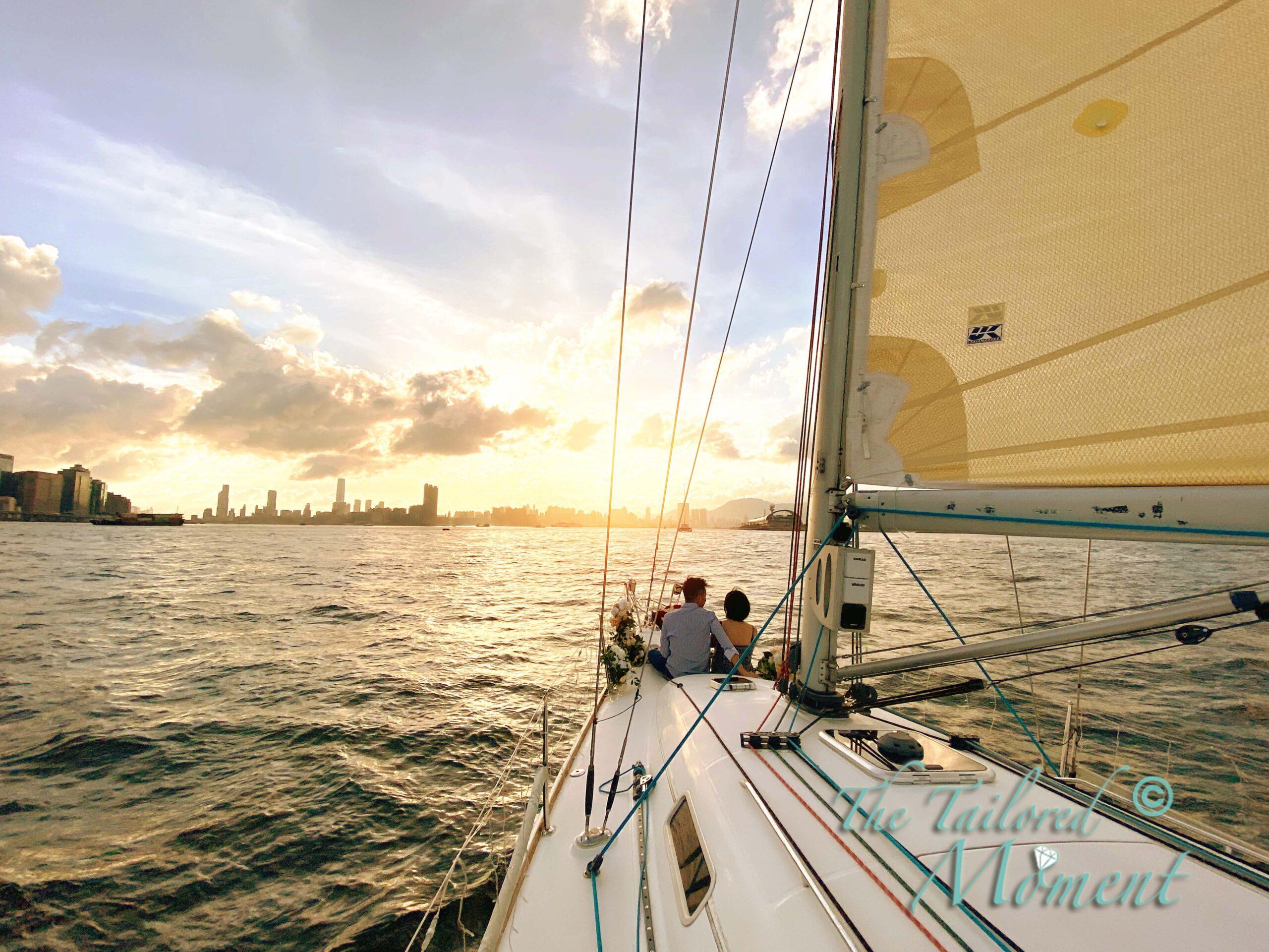 香港西貢帆船求婚