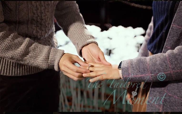 玫瑰燈海求婚