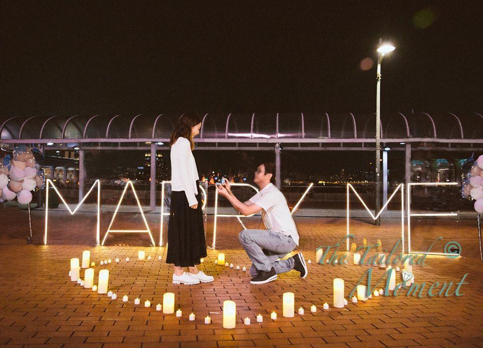 香港摩天輪求婚