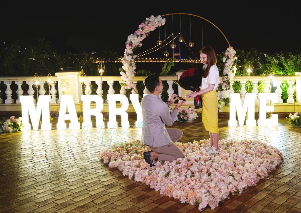 青馬觀景台求婚