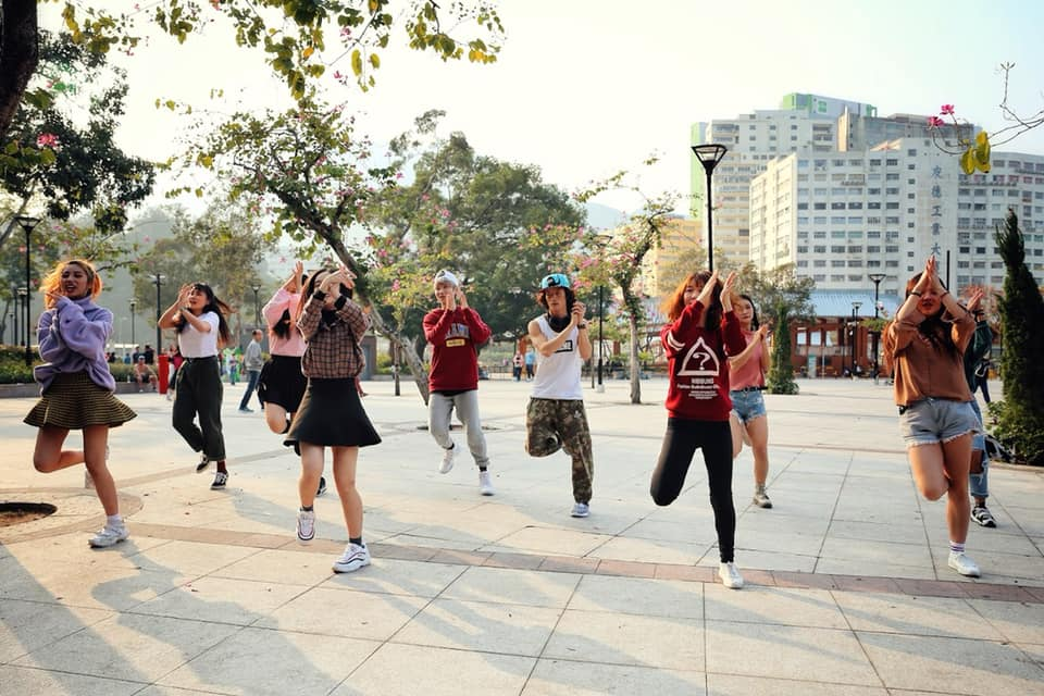 香港跳舞快閃求婚