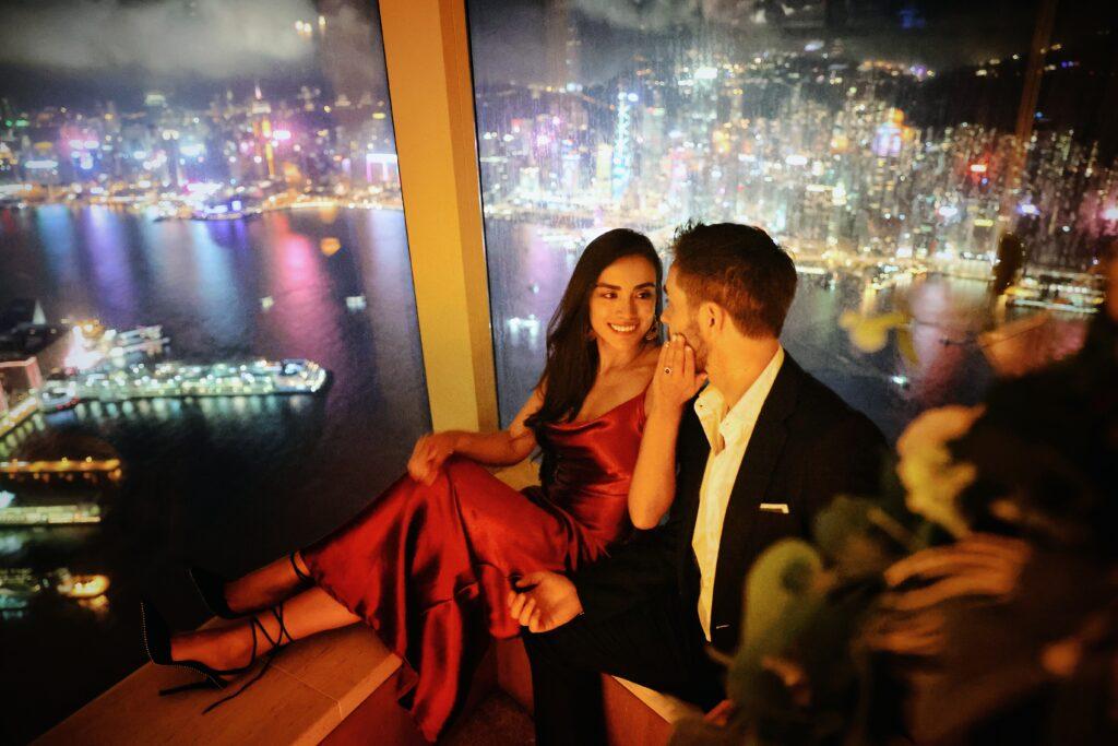 香港酒店求婚