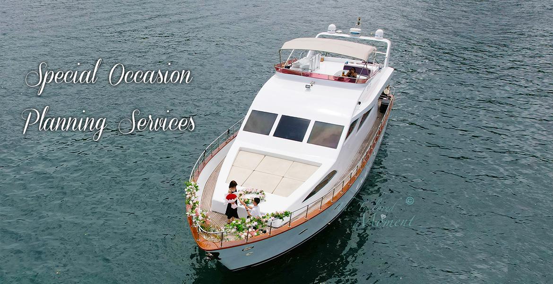 香港特式遊艇求婚